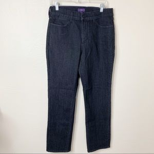 NYDJ Not Your Daughters Jeans Black Wash 10P